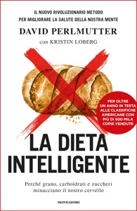 La dieta intelligente da David Perlmutter Copertina del libro