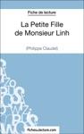 La Petite Fille De Monsieur Linh De Philippe Claudel Fiche De Lecture