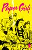 Brian K. Vaughan & Cliff Chiang - Paper Girls #1  artwork