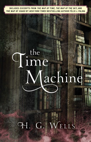 The Time Machine - H.G. Wells book cover