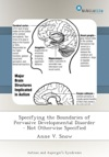 Specifying The Boundaries Of Pervasive Developmental Disorder - Not Otherwise Specified