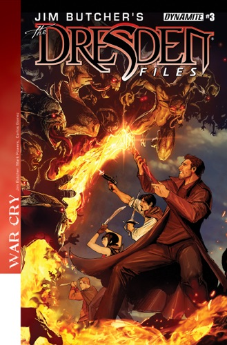 Jim Butcher, Mark Powers & Carlos E. Gomez - Jim Butcher's The Dresden Files: War Cry #3