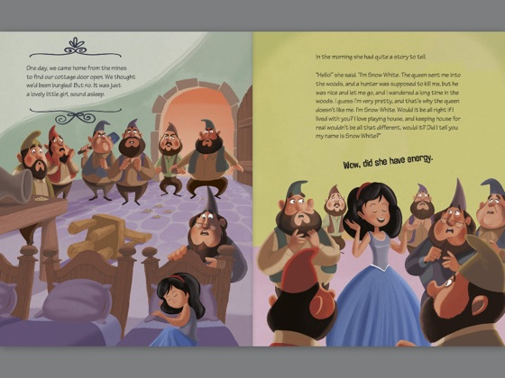 The Story of Snow White as Told by the Dwarves