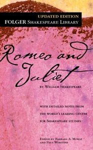 Romeo and Juliet by William Shakespeare Book Cover