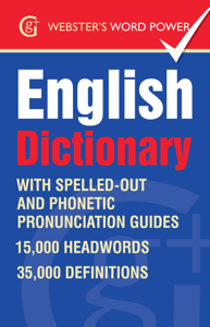 Webster's Word Power English Dictionary Libro Cover
