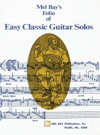 Easy Classic Guitar Solos book