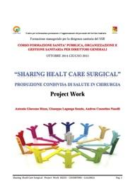 Produzione condivisa di salute in chirurgia pdf