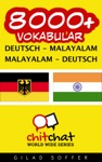 8000 Deutsch - Malayalam Malayalam - Deutsch Vokabular