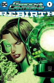 Green Lanterns: Rebirth (2016) #1 book