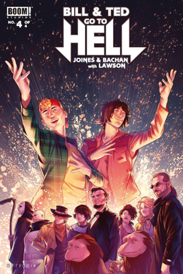 Bill & Ted Go to Hell #4 - Brian Joines & Bachan book