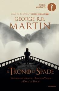 Il trono di spade 5. I guerrieri del ghiaccio, I fuochi di Valyria, La danza dei draghi Book Cover