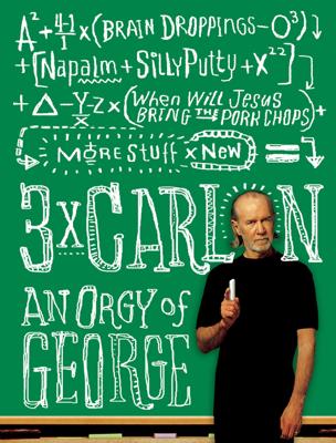 3 x Carlin - George Carlin book
