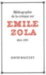 Bibilograhie De La Critique Sur Emile Zola 1964-1970