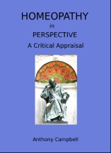 Homeopathy In Perspective: A Critical Appraisal