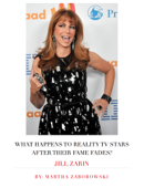 What Happens to Reality TV Stars After Their Fames Fades?: Jill Zarin