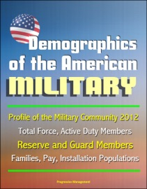 DEMOGRAPHICS OF THE AMERICAN MILITARY: PROFILE OF THE MILITARY COMMUNITY 2012 - TOTAL FORCE, ACTIVE DUTY MEMBERS, RESERVE AND GUARD MEMBERS, FAMILIES, PAY, INSTALLATION POPULATIONS