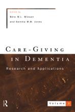 Care-Giving In Dementia 2
