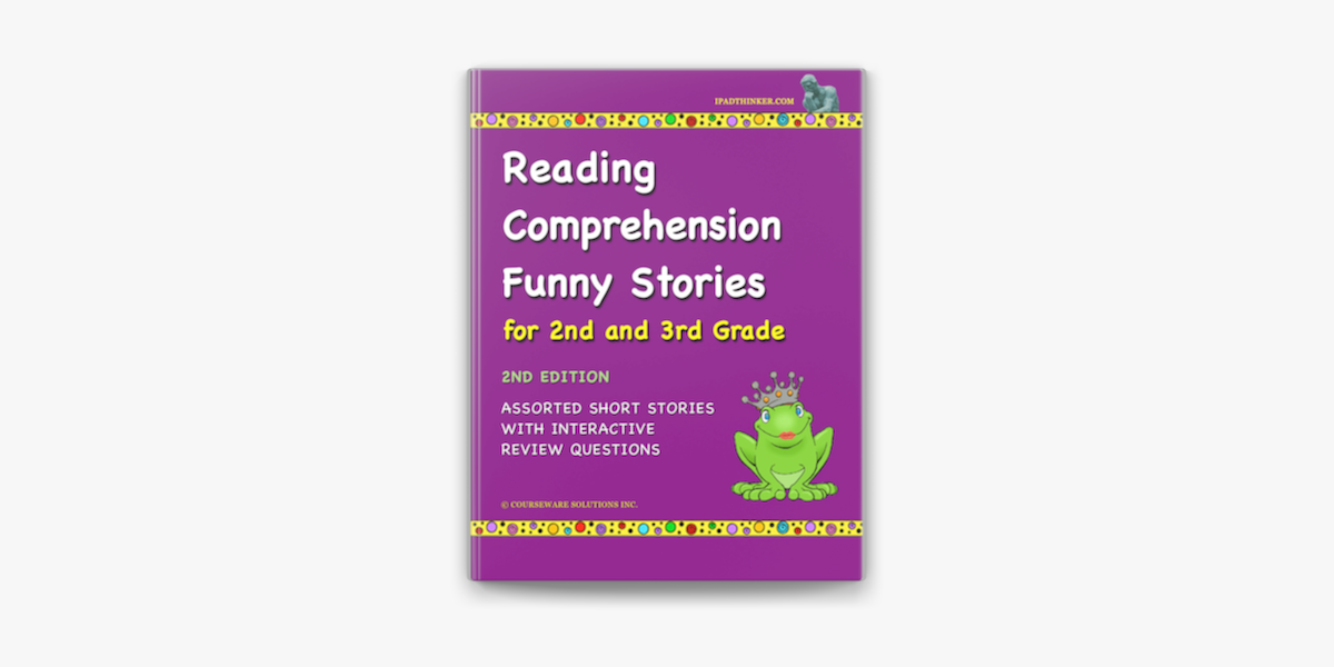 Reading Comprehension Funny Stories For 2nd And 3rd Grade On Apple Books