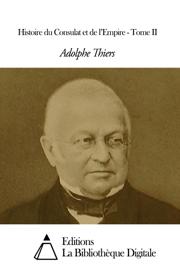 Histoire du Consulat et de l'Empire - Tome II