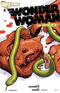 Wonder Woman (2011-2016) #3 Copertina del libro