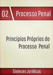 Princípios próprios do processo penal Book Cover