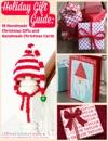 Holiday Gift Guide 18 Handmade Christmas Gifts And Handmade Christmas Cards
