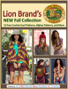Editors of AllFreeCrochet - Lion Brand's New Fall Collection: 15 Free Crochet Scarf Patterns, Afghan Patterns, and More ilustraciГіn