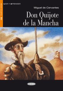 Don Quijote de la Mancha Copertina del libro