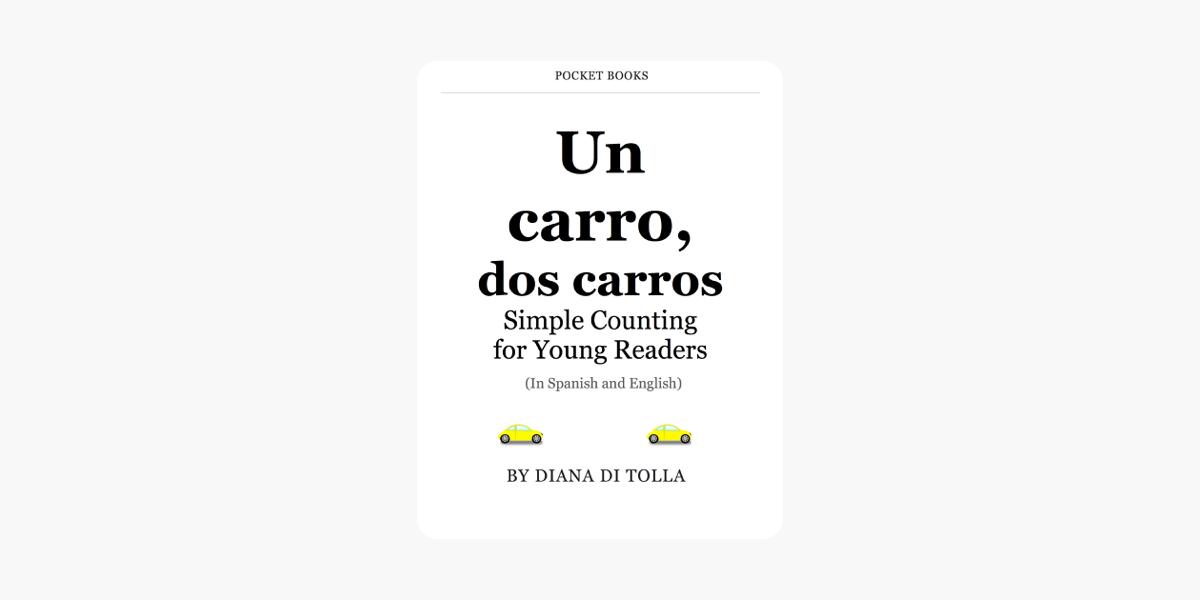 Carro In English >> Un Carro Dos Carros