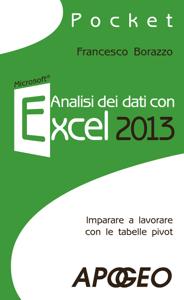 Analisi dei dati con Excel 2013 Libro Cover