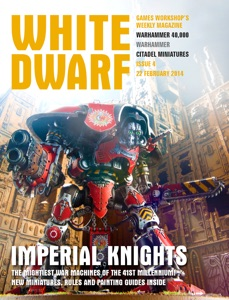 White Dwarf Issue 4: 22 Feb 2014 Book Cover