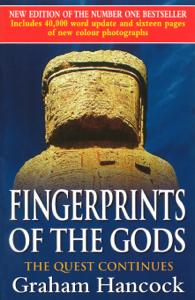 Fingerprints Of The Gods Copertina del libro