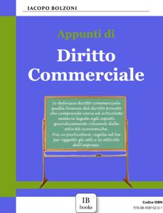 Appunti di Diritto Commerciale Copertina del libro
