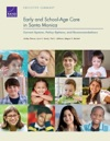 Early And School-Age Care In Santa Monica Current System Policy Options And Recommendations