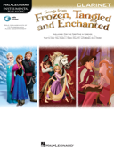 Songs from Frozen, Tangled and Enchanted - Clarinet Songbook Book Cover