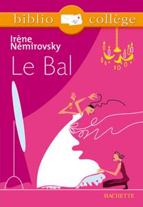 Bibliocollège - Le bal, Irène Némirovsky La couverture du livre martien