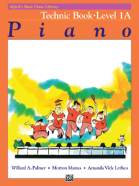 Alfred's Basic Piano Course: Technic 1A