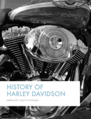 History of Harley Davidson Book Cover