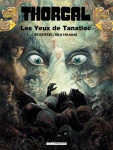 Thorgal - tome 11 – Les yeux de Tanatloc La couverture du livre martien