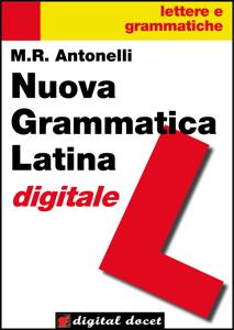 Nuova Grammatica Latina digitale Copertina del libro