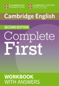 Complete First Second edition Workbook with answers