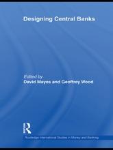 Designing Central Banks