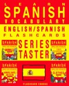 Learn Spanish Vocabulary Series Taster - EnglishSpanish Flashcards