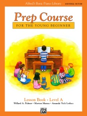 Alfred's Basic Piano Library Prep Course: Lesson A (Universal Edition)