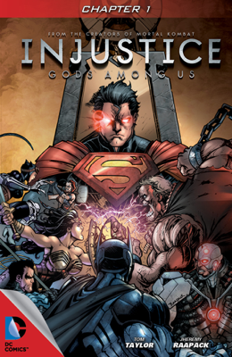 Injustice: Gods Among Us #1 - Tom Taylor & Jheremy Raapack book