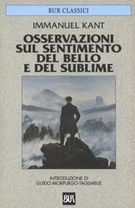 Osservazioni sul sentimento del bello e del sublime Book Cover