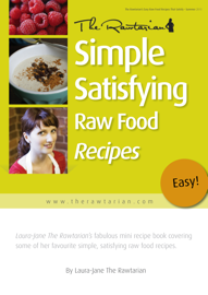 Simple Satisfying Raw Food Recipes