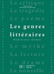 Les Genres littéraires - Edition 1992