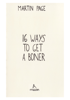 Martin Page - 16 Ways to Get a Boner artwork
