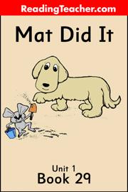 Mat Did It book